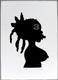 série negreiros (no. 20) by josé de guimarães