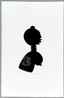 série negreiros (no. 9) by josé de guimarães