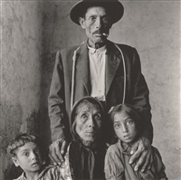 spanish gypsy family by irving penn
