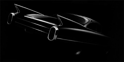 untitled (caddy) by robert longo