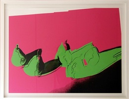 space fruits (pears), fs ii.203 by andy warhol