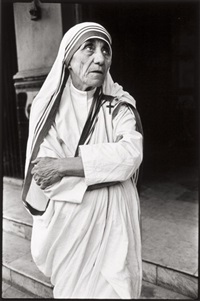 mother teresa, calcutta by mary ellen mark