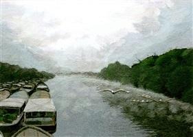 river seine by matsushita hiroe