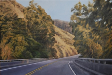 pacific light on coastal highway by clifford smith