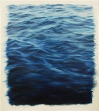 study for ocean blue light by clifford smith
