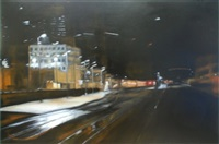 night light, san diego railroad station by clifford smith