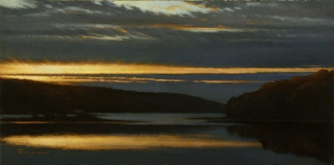 sunrise (sold) by peter bergeron
