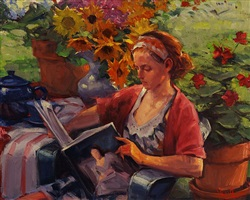 summer reading by george van hook