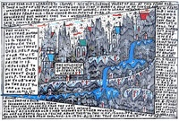 holy child of bethlehem (kid's dream world) by howard finster