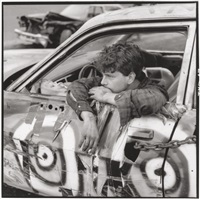 demo driver, the wall stadium by danny lyon