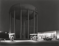 petit's mobil station, cherry hill, n.j by george tice