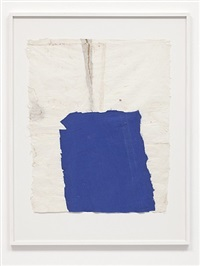 blue cloth drawing by joe fyfe