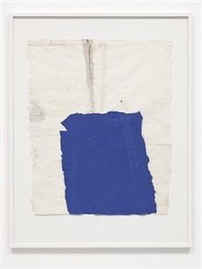 blue cloth drawing by joe fyfe