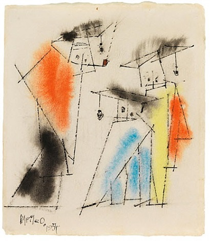 drei figuren (graduation) / three figures (graduation) by lyonel feininger