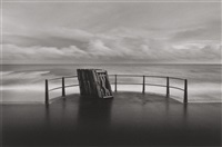 deck chairs by michael kenna