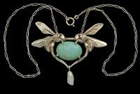 art nouveau vespa pendant by maurice pierre andre daurat