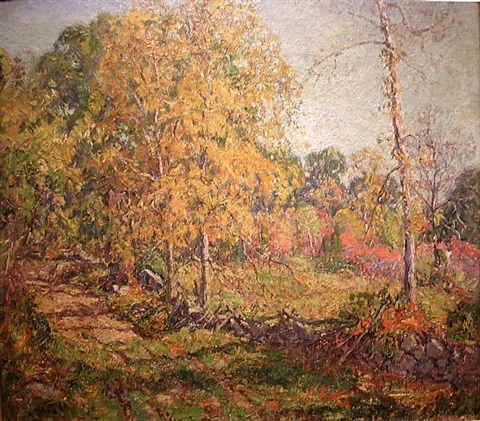 autumn by wilson henry irvine