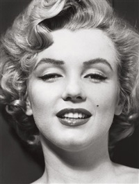 marilyn portfolio (10 works) by philippe halsman