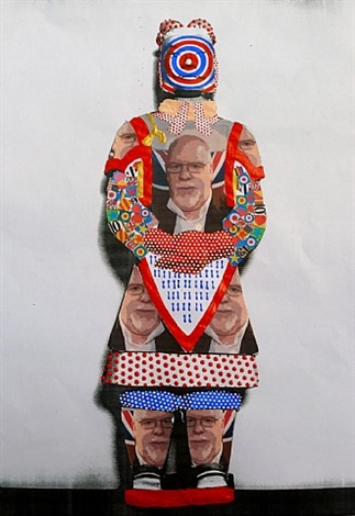 sir peter blake by liu fenghua