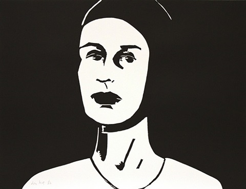bathing cap (ada) by alex katz
