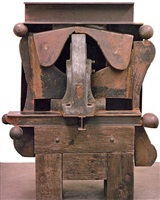brake press head by sir anthony caro