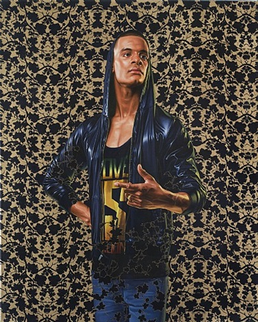 morthyn brito iii by kehinde wiley