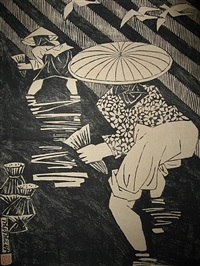 transplanting rice by phung pham