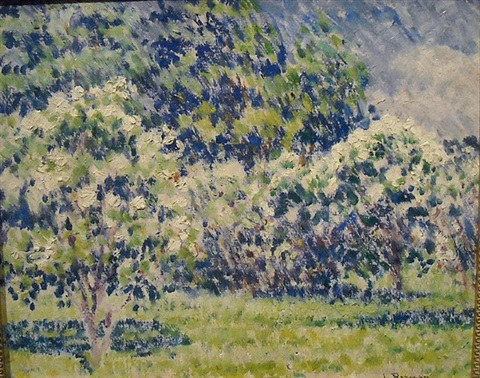 grove of trees by louis ritman