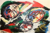 heads in space by karel appel