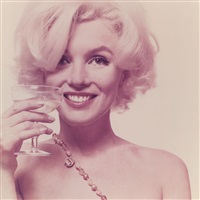 marilyn monroe, here's to you, (from the last sitting) by bert stern