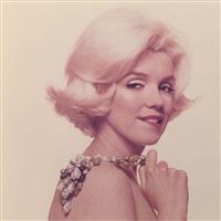 marilyn monroe, flirtatious (from the last sitting) by bert stern