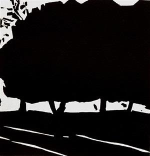 untitled (tree) by alex katz