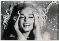marilyn monroe, pearls by bert stern