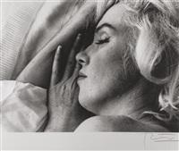 marilyn monroe, sleeping by bert stern
