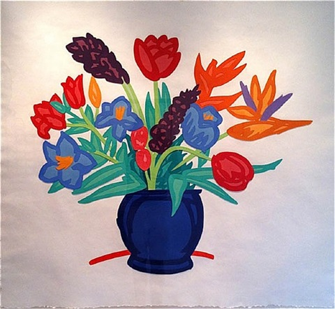 bouquet by tom wesselmann
