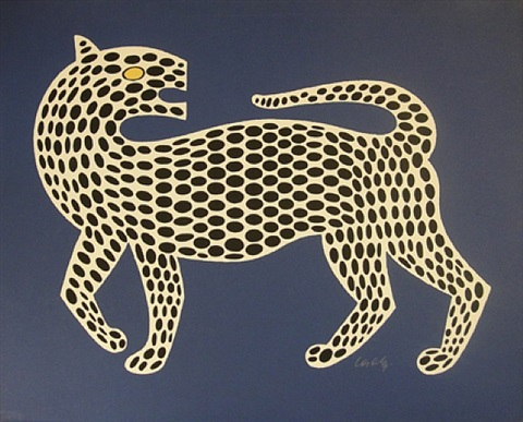 leopard by victor vasarely