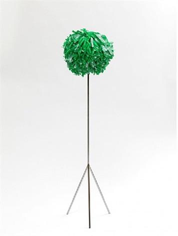 small green pompon by ayse erkmen