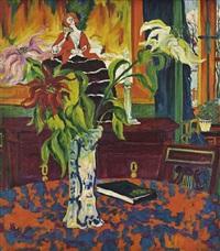 blumenstilleben / still life with flowers by philipp bauknecht