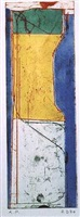 small thin a/p (sold) by richard diebenkorn