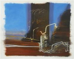 study for urban dawn by clifford smith