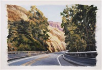 study for pacific light on coastal highway by clifford smith