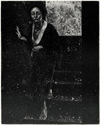 treppe (+ erinnerung an die nacht; 2 works) by masami tsuru