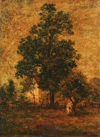 landscape, long island by ralph albert blakelock