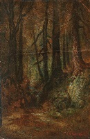 woodland stream by ralph albert blakelock