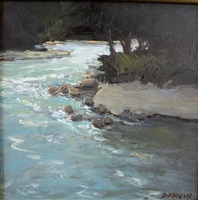 spring run off (sold) by sandy garvin