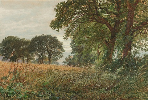 tennyson's farm, farington, isle of wight by william trost richards