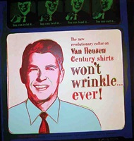 van heusen (ronald reagan) by andy warhol