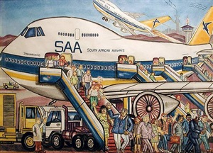 flying saa to canada by tommy motswai