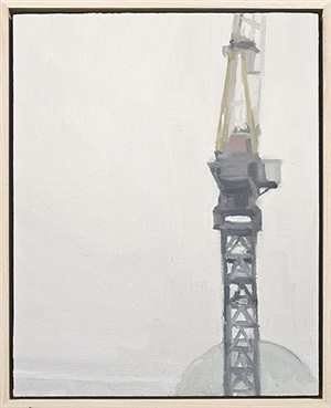 crane study at tower 1 by diana horowitz