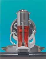 ice crusher, coffee pot and waffle iron by harold reddicliffe